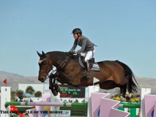 Meredith Michaels-Beerbaum And Bella Donna Best AIG $1 Million Grand Prix Field
