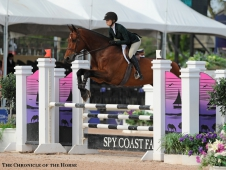 "Lillie Keenan scores an <a href=""http://www.chronofhorse.com/article/keenan-rules-day-george-morris-excellence-equitation-championship"">equitation win at WEF.</a>"