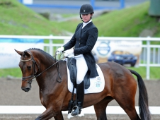Lauren Kieffer And Veronica Lead Bromont CCI*** Dressage