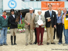 Scripted earned the grand hunter championship at Devon.