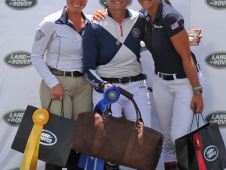 The Land Rover Great Meadow International CIC*** winners