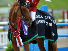 Marilyn Little and RF Demeter Win the Jaguar Land Rover Bromont CCI***