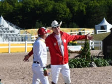 Eric Lamaze and Ian Millar