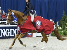 Tori Colvin won the Washington International Equitation Classic Final