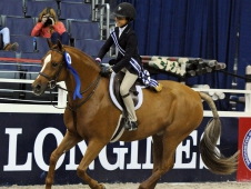 Washington International Pony Equitation Final Winner
