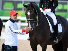 Alan Davies, Valegro and Charlotte Dujardin