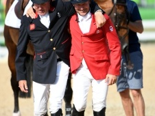 Nick Skelton and Eric Lamaze