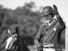 USA-Boyd Martin rides Steady Eddie during the Second Day of Dressage.  2017 GBR-Land Rover Burghley Horse Trials. Friday 1 September. Copyright: Libby Law Photography