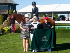 "Kennzo and Molly Ashe-Cawley Won The <a href=""http://www.chronofhorse.com/article/kennzo-carries-ashe-cawley-hampton-classic-derby-win"">Hampton Classic's $50,000 USHJA International Hunter Derby.</a>"