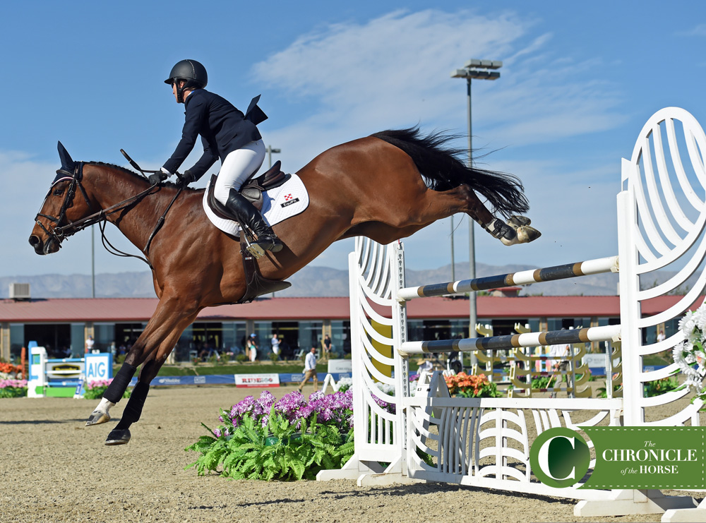 Mandy Porter said Milano just gets better and better every time he goes in the ring. Photo by Kimberly Loushin.