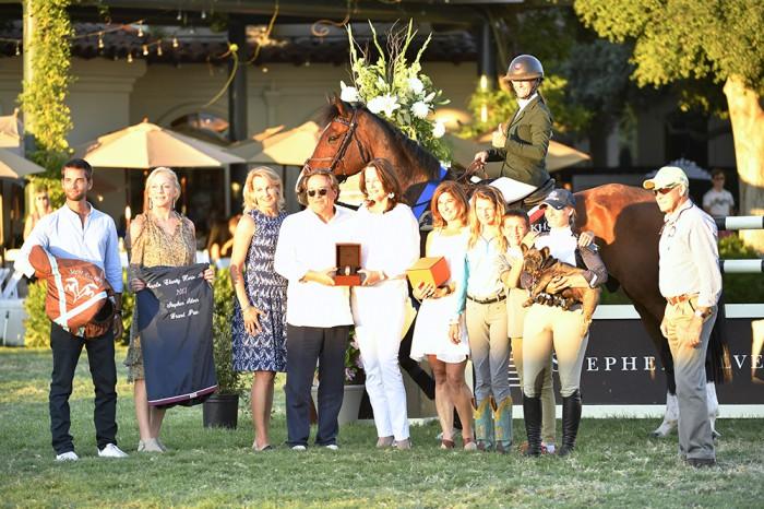 $40,000 Stephen Silver Grand Prix Winner Kristin Hardin & Firestone S