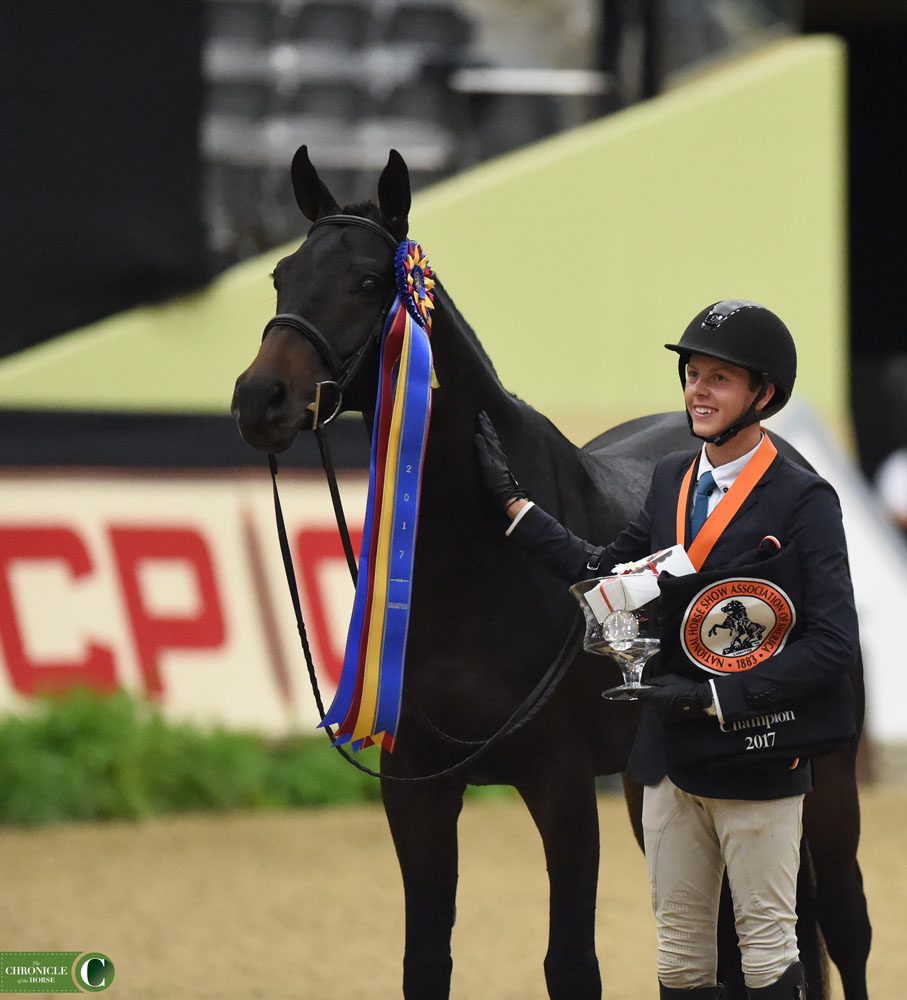 Your 2017 Junior Hunter Champions At The CP National Horse Show