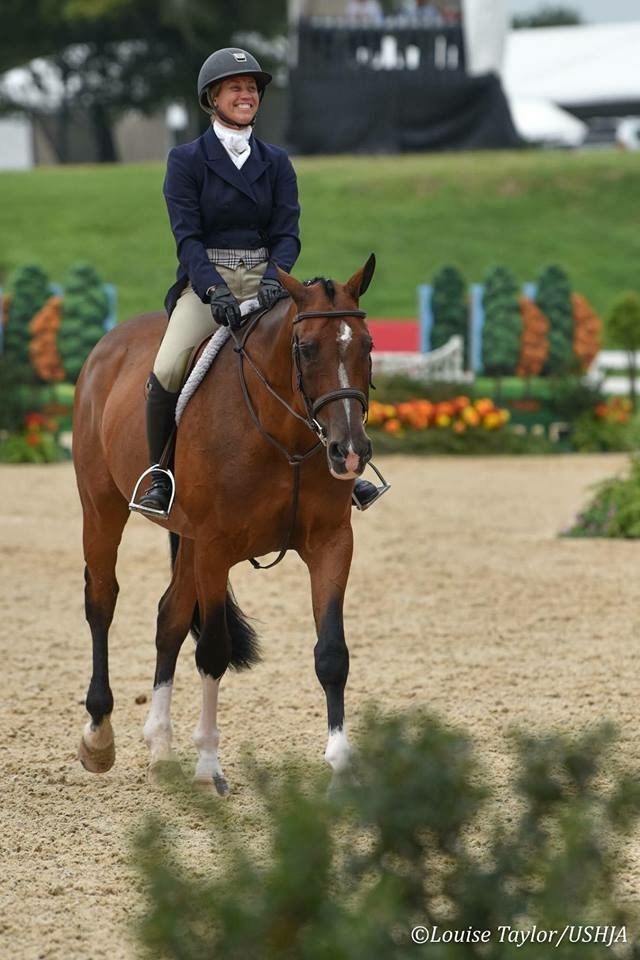 Caitlyn Shiels and Cassius at USHJA Derby Finals by Louise Taylor for USHJA