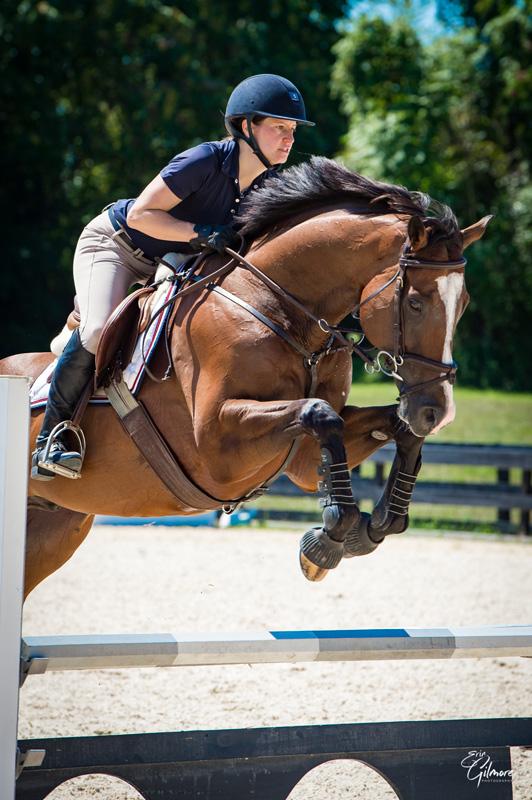 Cleo Haynal horse Erin Gilmore