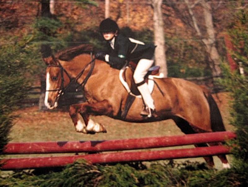 SophieCoffeySoxLoudounHuntHunterTrials1992