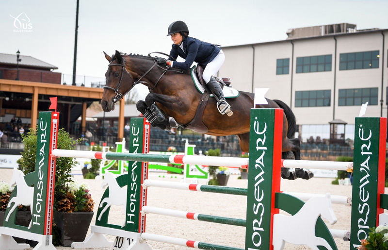 during Prix Des States at the Tryon International Equestrian Center.