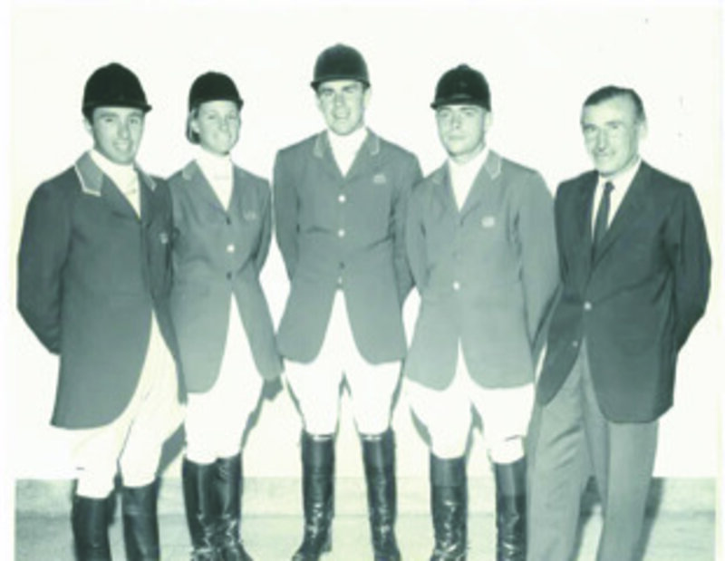 Michael Page, Helena _lana_ DuPont, Michael Plumb, Kevin Freeman and coach Stefen von Visy—Carmine Petriccione photo (1)