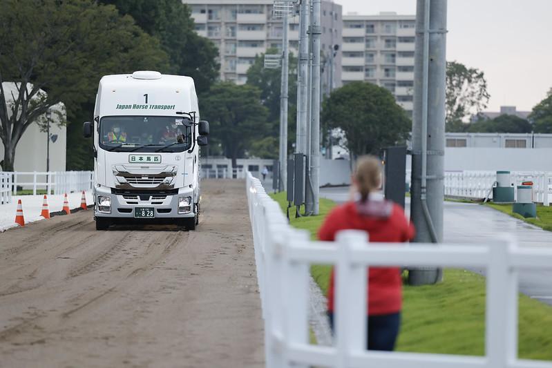 Horses Arrive Tokyo