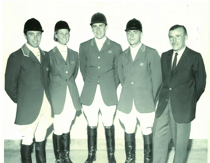 Michael Page, Helena Lana DuPont, Michael Plumb, Kevin Freeman and coach Stefen von Visy—Carmine Petriccione photo-0