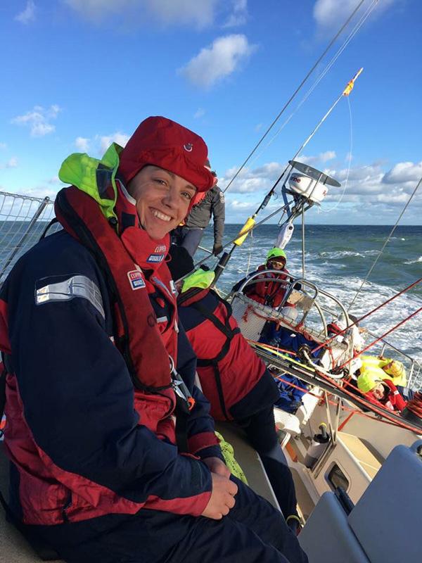 Groom_Kay Neatham sailing